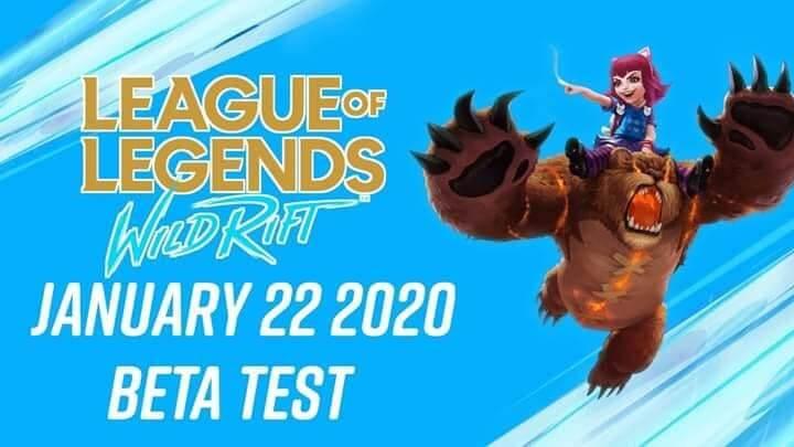 LOL Wild Rift เผยวันเปิด Beta Test