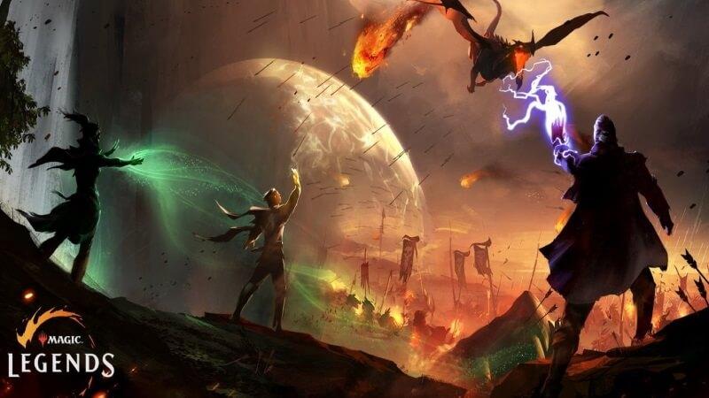 ฟุตเทจแรก Magic: Legends