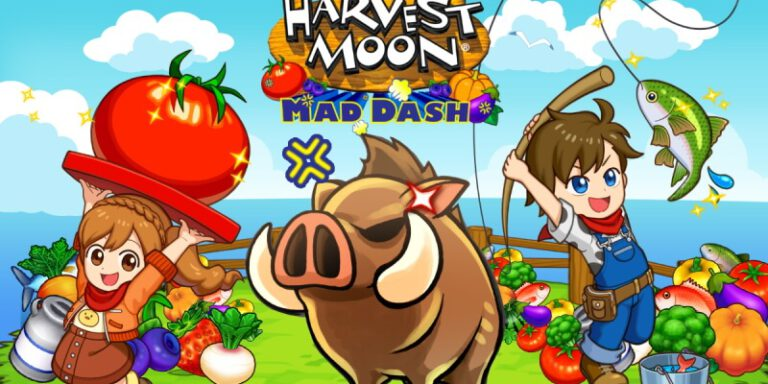 Harvest Moon: Mad Dash บนมือถือ วางจำหน่ายแล้ว