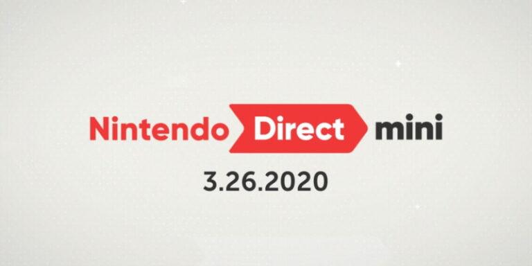ส่องไลน์อัพเกม Nintendo Direct Mini เดือนมีนาคม 2020