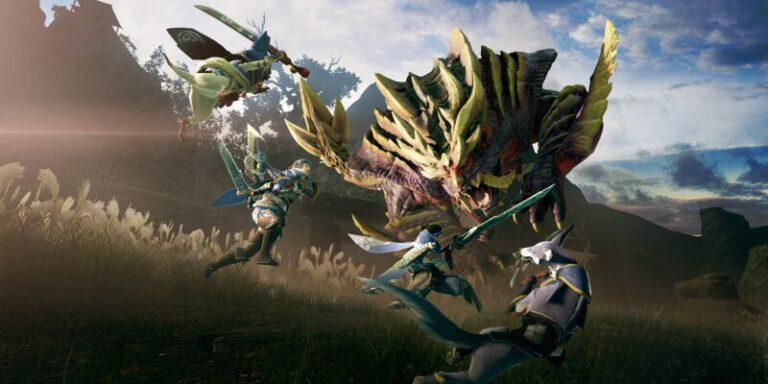 เปิดตัวเกม Monster Hunter Rise บนเครื่อง Switch