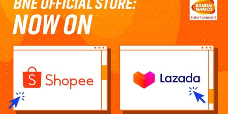 Bandai Namco เปิดร้านขายเกมบน Shopee และ Lazada