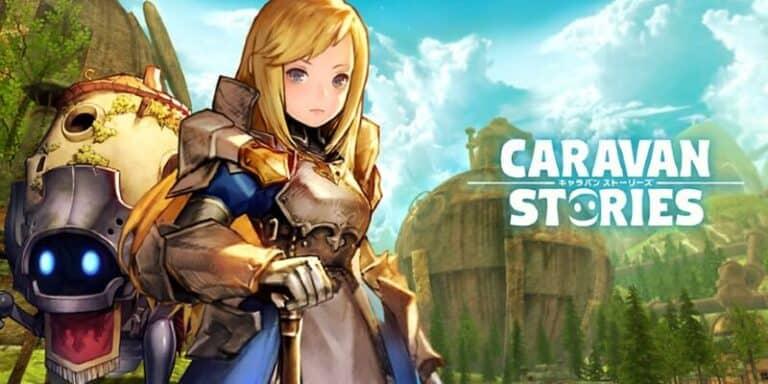 Caravan Stories เกมแนว MMORPG ออกเวอร์ชั่น Switch