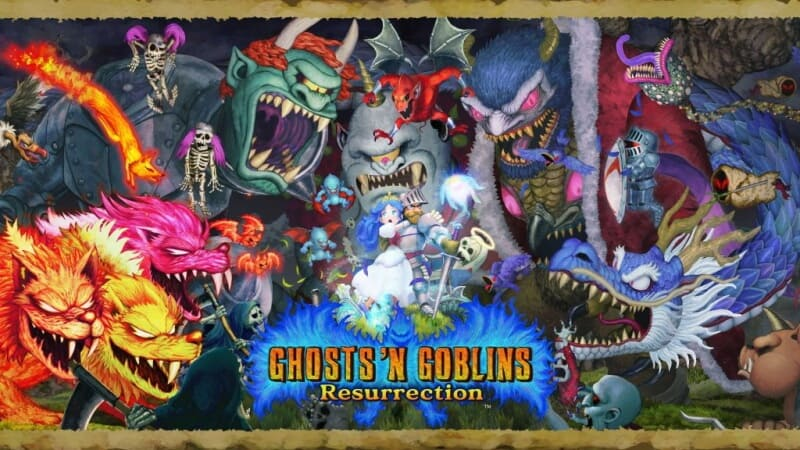 กดใบชุบ Ghosts 'n Goblins Resurrection ภาคใหม่ลงเครื่อง Switch