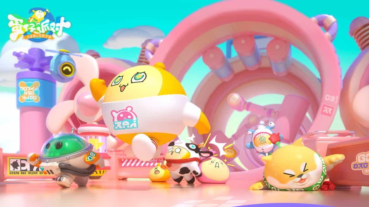 ปาดหน้า NetEase เปิดตัว Eggy Party เกมมือถือคล้าย Fall Guys